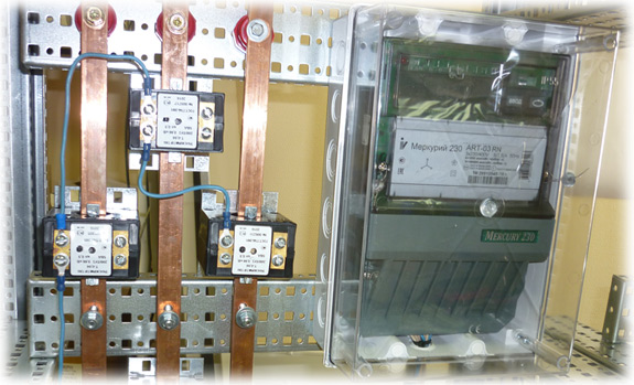 Замена трансформаторов тока в ВРУ.