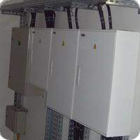 Щиты электроснабжения и электроосвещения.