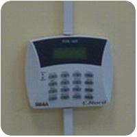 Монтаж системы охранной сигнализации в офисе.