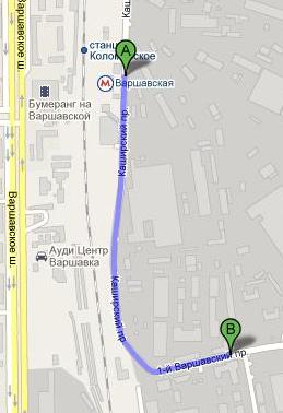 Схема проезда в ООО Строй-ТК