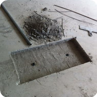 Подготовка мест установки лючков с розетками СКС и электроснабжения.